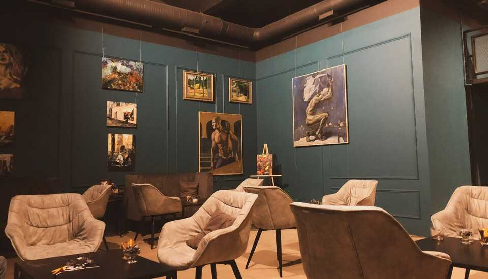 Good Habits Gallery Lounge
